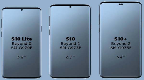 Samsung to launch three variants of Galaxy S10