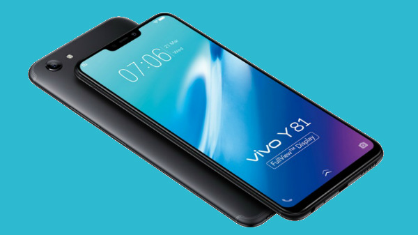 Vivo Y81i officially launched in India with a notch display and VoLTE