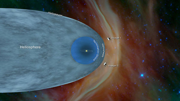 NASA's Voyager 2 reaches edge of solar system 41 years after launch