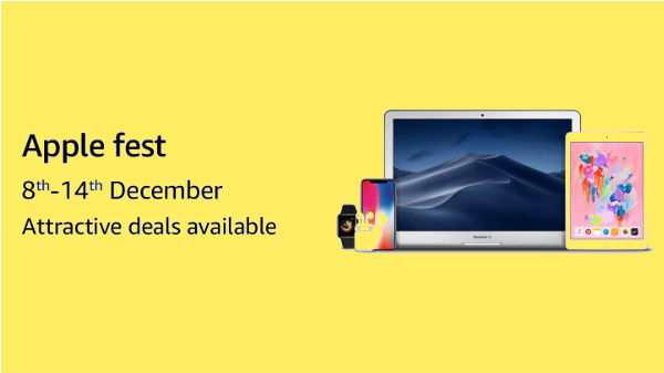 Amazon Apple Fest sale: Grab Apple products with heavy discounts and offers
