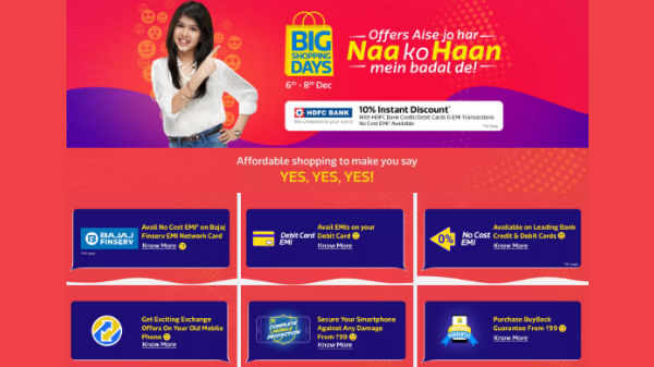 Big Shopping Days: Discounts on phones, electronics, TVs and more