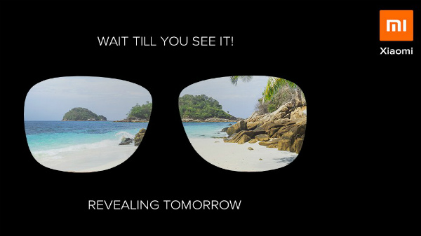 Xiaomi to launch a new product today: VR headset or Sunglasses?