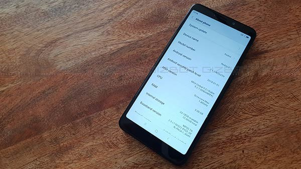 Xiaomi Redmi 5 receives MIUI 10.1.3 update based on Android 8.1 Oreo