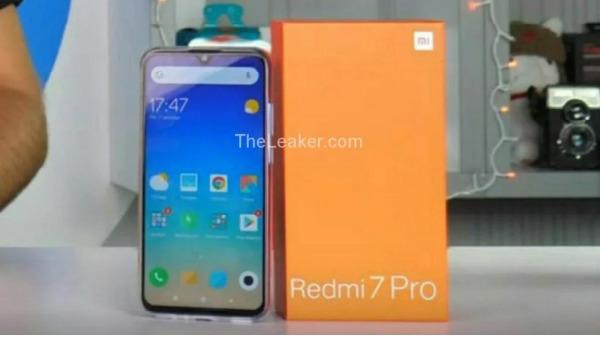 Xiaomi Redmi 7 Pro leak shows retail box and design