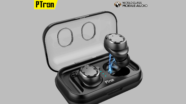 PTron Spunk wireless earphones with Bluetooth 5.0 and IPX5 rating officially launched