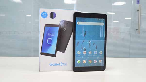 Alcatel 3T 8 review: Affordable tablet-computer with VoLTE