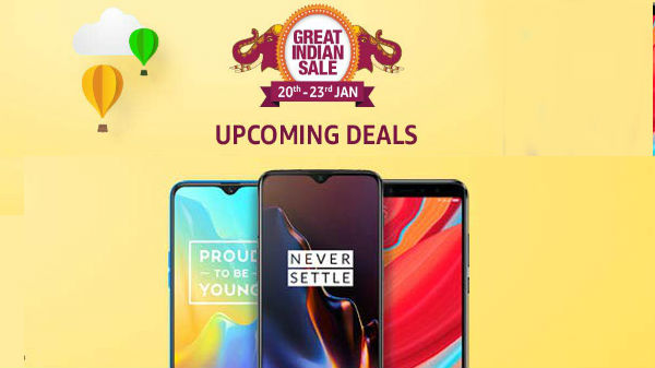 Amazon Great Indian Festival sale on (Jan 20th to 23rd)