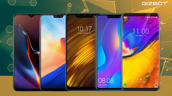 Best notch screen smartphones launched in 2018 under Rs. 40,000