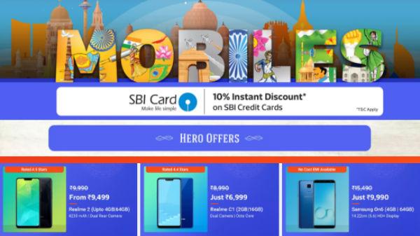 Flipkart Mobiles Republic Day Sale 2019: Discounts on mid-rang phones