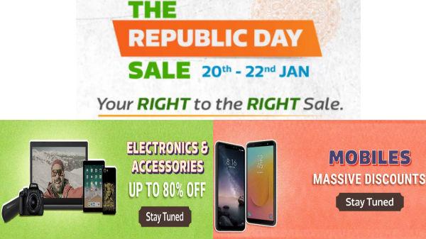 Flipkart Republic Day Sale Offers (20th to 22nd Jan)