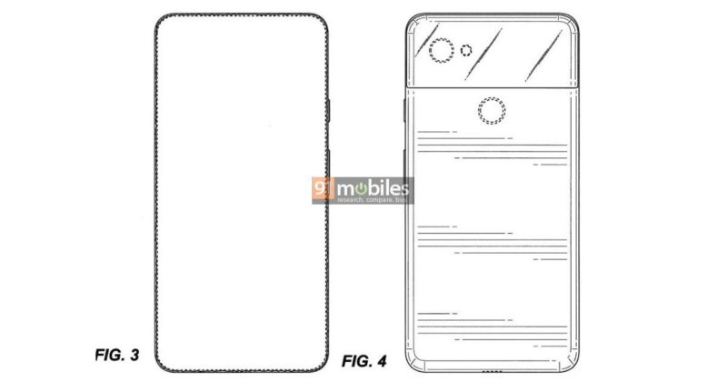 Google Pixel 4 revealed in patents, will sport bezel-less display