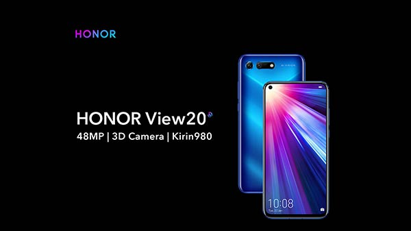 Honor View 20 up for grabs in India starting from Rs. 37,999