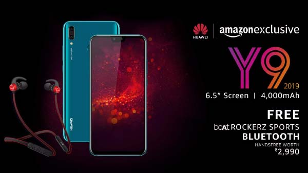 Huawei Y9 (2019) launched in India for Rs. 15,990