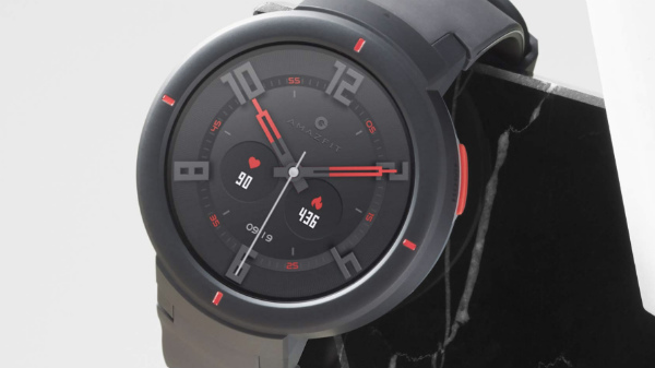 Huami Amazfit Verge with 1.3-inch circular OLED display launched