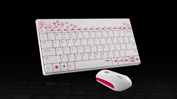 Rapoo announces 8000 Wireless Mouse and Keyboard for Rs 1079