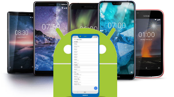 List of Nokia smartphones to get Android Pie update in 2019