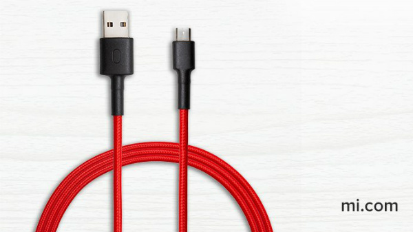 Mi Micro USB Braided Cable looks premium and offers fast charging