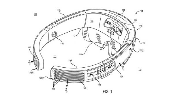 Microsoft is working on cooling system for head-borne wearables