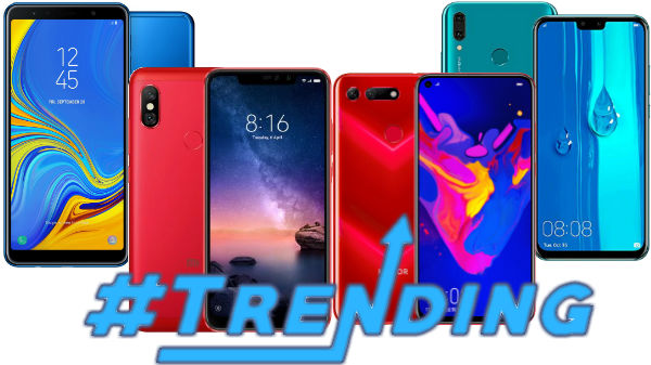 Most trending smartphones of last week