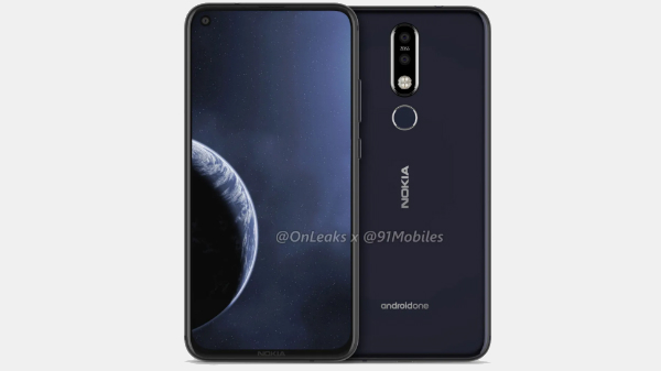 Nokia 8.1 Plus renders point at a punch hole display