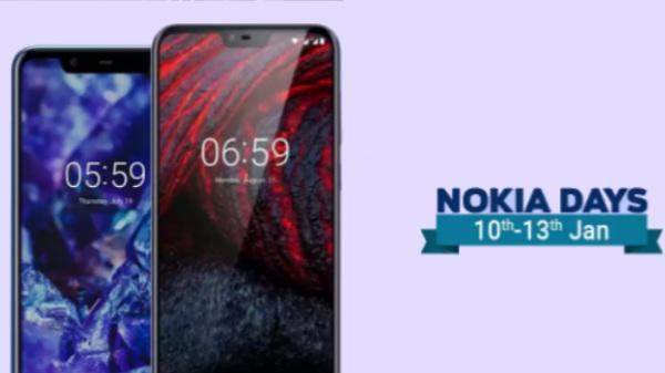 Nokia Days sale on Flipkart: Nokia 6.1 Plus and Nokia 5.1 Plus offers