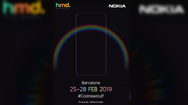 Nokia teases a surprise smartphone launch @ MWC 2019 with 4 cameras