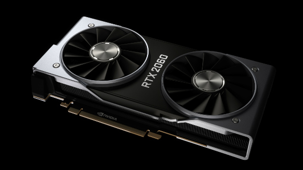 Nvidia RTX 2060 announced for $349 with 6 GB GDDR6 video memory