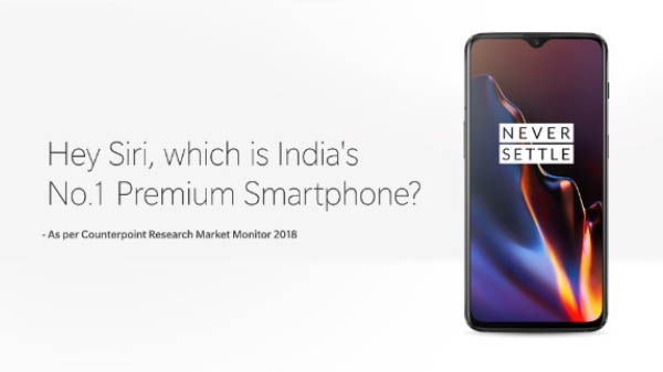 OnePlus trolls Apple as it becomes the No. 1 premium smartphone brand