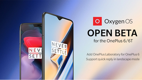 OnePlus 6 and 6T Open Beta update brings landscape quick reply