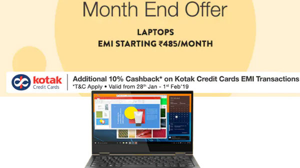Paytm EMI offers: You can buy laptops starting from Rs 500 per month