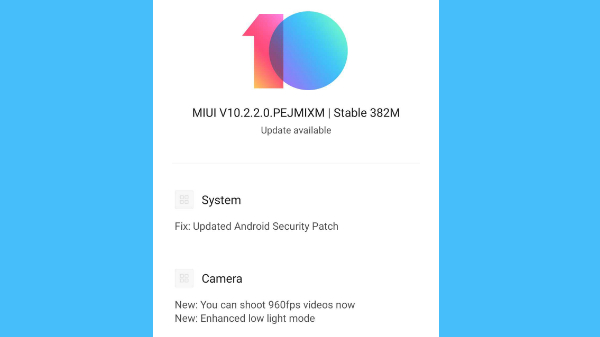 Poco F1 receives MIUI 10.2.2.0 update: Enables 960fps video recording