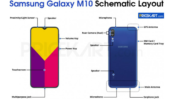 Samsung Galaxy M10 specs leaked: Most affordable Galaxy M device?