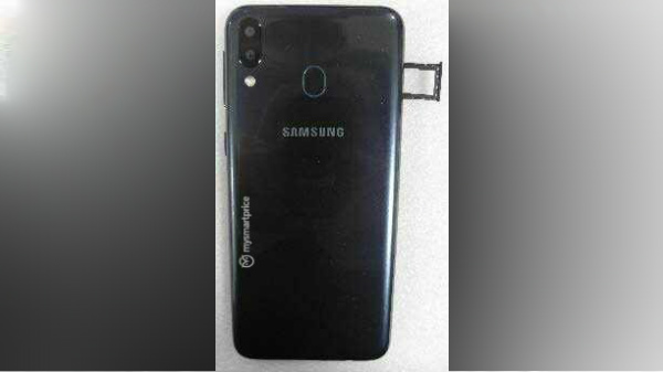 Samsung Galaxy M20 leaked image shows rear panel design