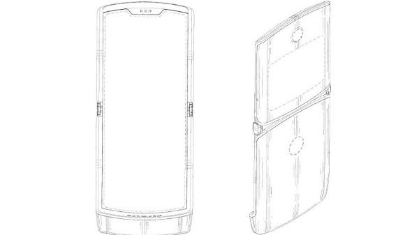 Motorola patent suggests Razr phone's folding display design