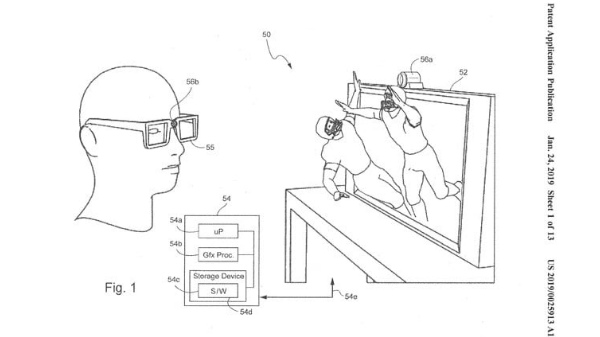 Nintendo files patent for 3D gaming on televisions