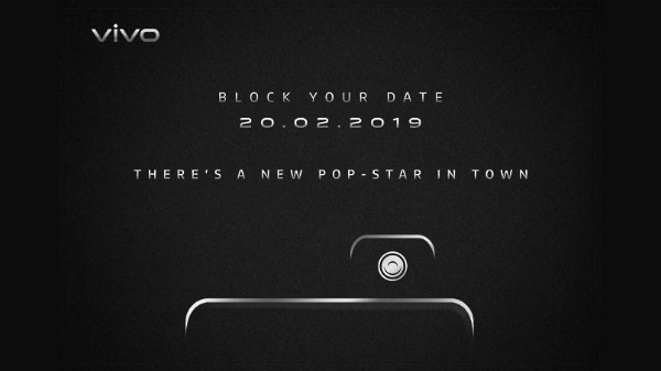 Vivo V15 Pro will launch in India on the 20th of February 2019