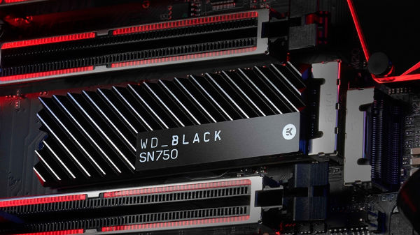 WD Black SN750 NVMe SSD with heat sink announced: Price starts at $78