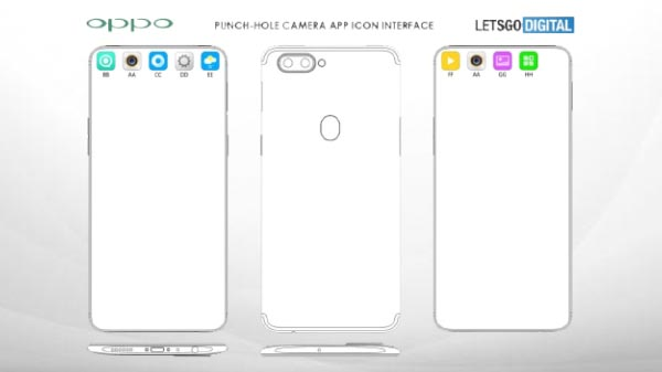 Oppo patent reveals new punch-hole display for R19