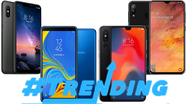 Top trending smartphones of last week: Xiaomi Redmi Note 7, Galaxy M30, Galaxy S8 and more