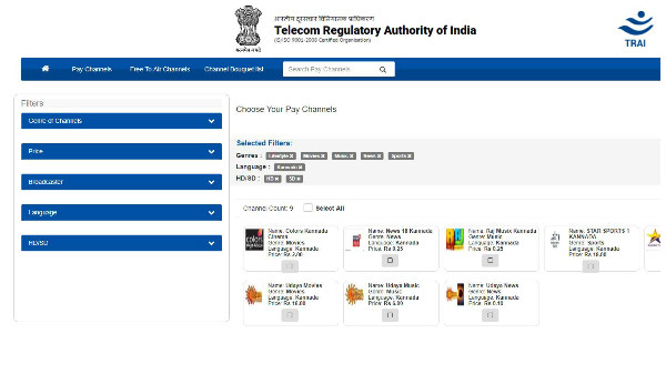 TRAI launches Channel Selector Application to ease the latest DTH rule