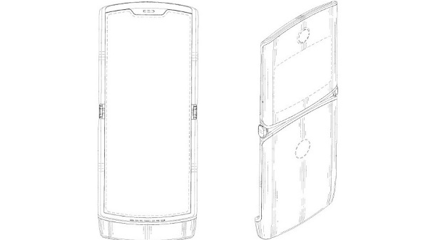 Motorola patent suggests Razr phone's folding display design