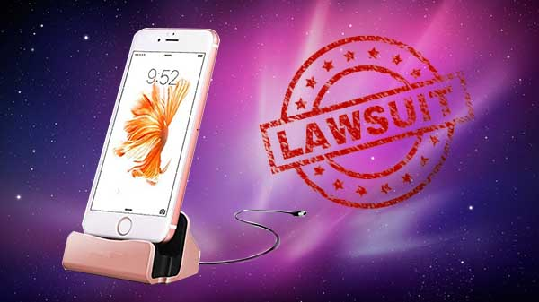 Apple facing lawsuit for delibrately disabling iPhone chargers