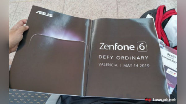 Asus ZenFone 6 launch date divulged in an ad