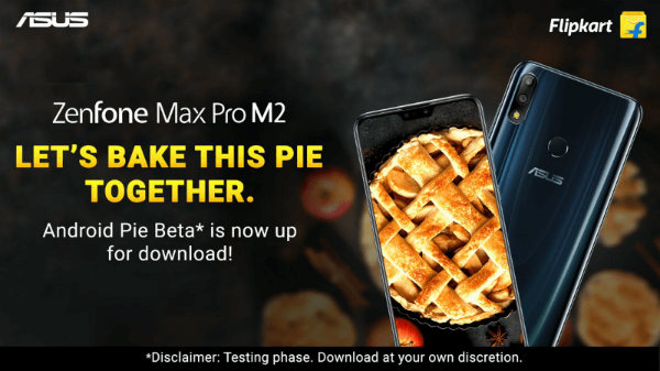 Asus Zenfone Max Pro M2 gets Android 9 Pie beta update
