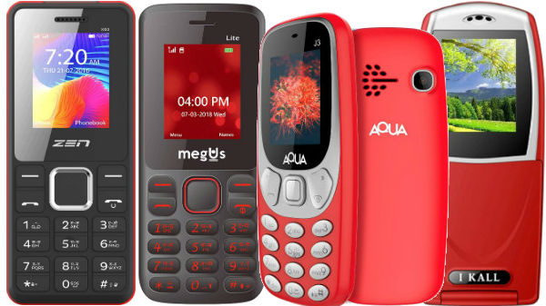 Best feature phones to buy under Rs. 1,000