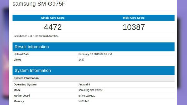 Exynos 9820 SoC outperforms Snapdragon 855 on Geekbench: Galaxy S10+