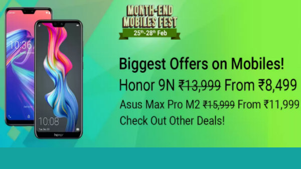 Flipkart Month End Mobiles Fest: Honor, Poco, Asus, Samsung and more