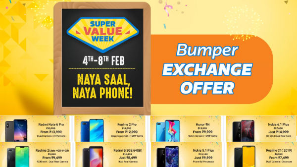 Flipkart Super Value Week: Get heavy discounts on smartphones
