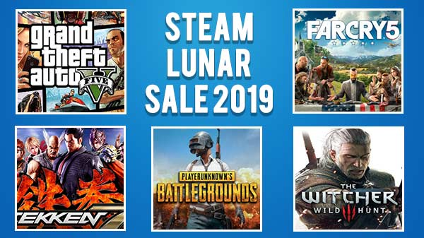 Steam Lunar Sale 2019: GTA V, Far Cry 5 and more with heavy