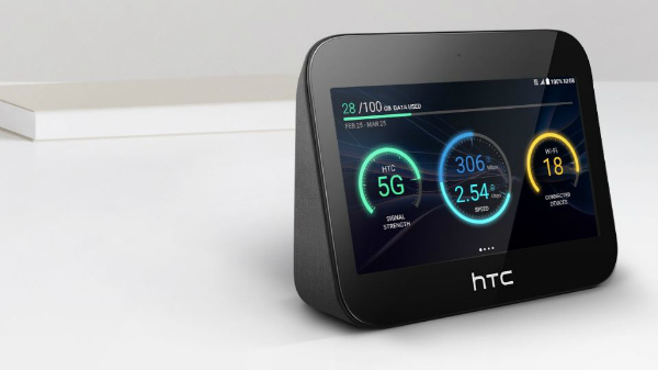HTC 5G Hub with a massive 7660 mAh battery announced